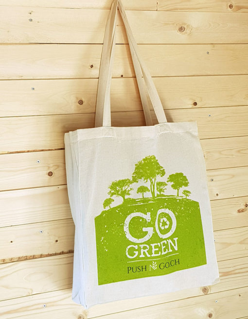 Go green Baumwolle Shopper