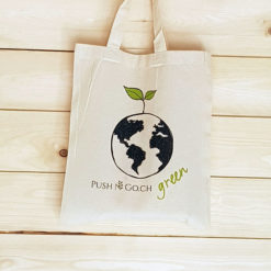 Baumwolltasche Green World