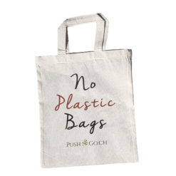 Stofftasche No plastic bags