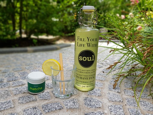 Fill your Life with Soul Flasche